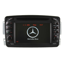 Auto DVD Player GPS Navigation for Mercedes-Benz Clk-W209 Radio Hualingan
