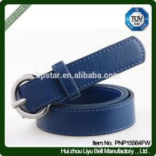 Women Belt Blue Cintos for Female Lady Jeans Dress Straps Fashion Ceinture PU