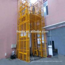 Elevador / elevador hidráulico vertical de 2 postes de capacidad de 2 t.