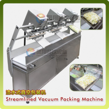 Pcl Control Streamlined Vacuum Packing Machine with Gas Flushing Function