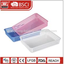 Eco-friendly promotation wholesales Multi-use PP storage plastic basket