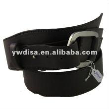 Cinturones de cuero para hombre Cinturón de cuero de hebilla de aleación