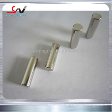 low price rare earth cylinder magnet in stock high quality china manufacturer