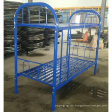 Steel furniture labor use metal bed wholesale good price bed
