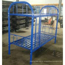 Trabalho de móveis de aço usar cama de metal por atacado boa cama de preço