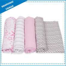 100% Bamboo Muslin Swaddle Blanket
