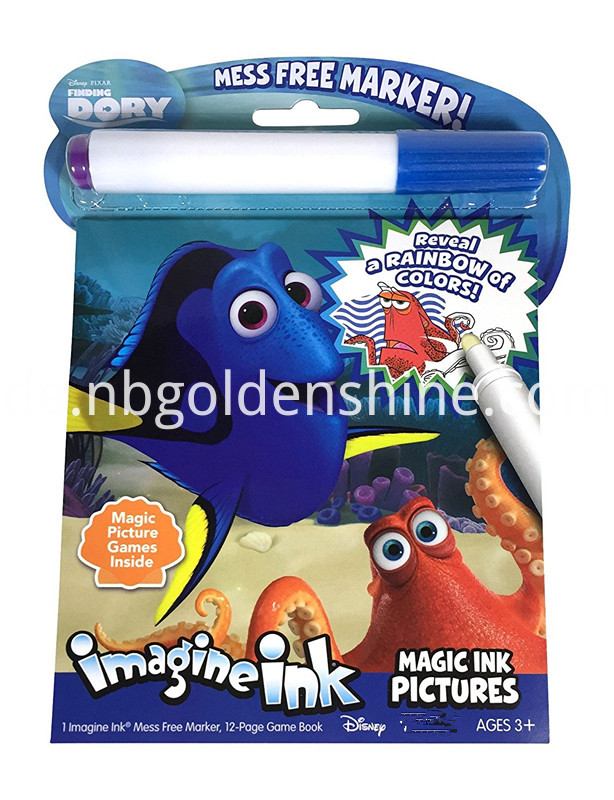 Dory Magic Ink Reveal Book