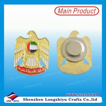 UAE Gold Eagle Magnetisches Reversabzeichen