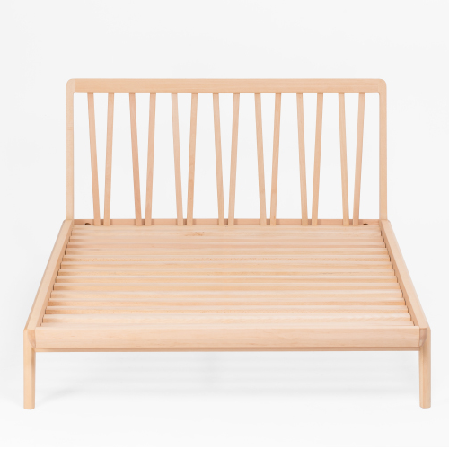 Beech Wooden Bed