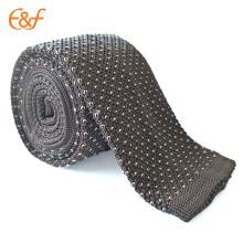 Nouveaux liens tricotés à la main au crochet classiques pour hommes