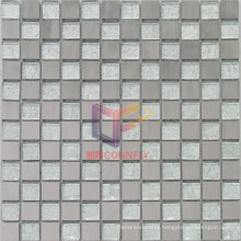 Silver Crystal Gold Leaf Mosaic/Glass Mosaic (CFA43)