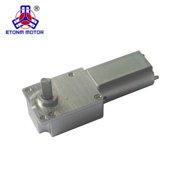 Motor de engranaje de ángulo recto 9v dc