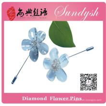 Sundysh handgemachte klare Kristallblumen-Stifte