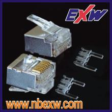 Cat6 STP Short Body Plug