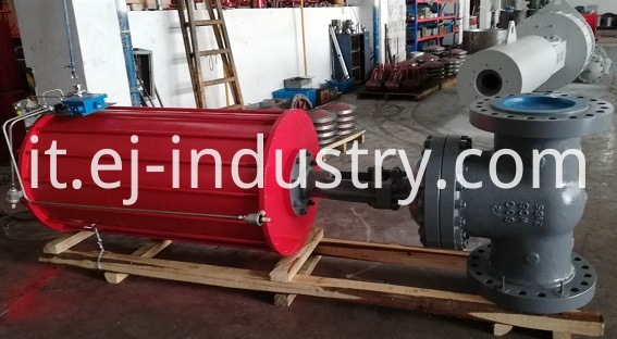Pneumatic Actuator Gate Valve