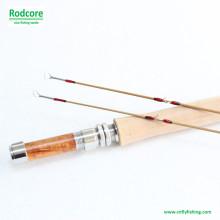 8FT 5wt Hexagon Tonkin Bambus Fliegen Rod
