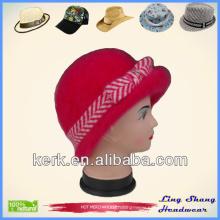 LSA57 Factory Price Popular Fashion Winter Knitted winter ladies' cheap designer hats