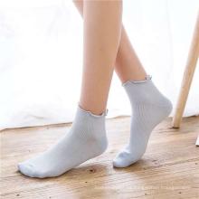 Calcetines de algodón antideslizantes transpirables de estilo japonés para niña