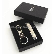 Corrente chave do Manicure do logotipo do OEM ajustada para o presente relativo à promoção