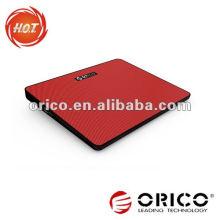 Cofragem de resfriamento de notebook USB colorida com um design super fino de ventilador