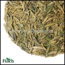 Long Leaf Hand Made Green Tea Chinese Top Grade Dragon Well Green Tea , Hang Zhou Long Jing Green Tea , Lung Ching Green Tea