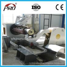 Máquina de moldagem de rolo de tambor de aço metálico / máquina formadora de barril de aço