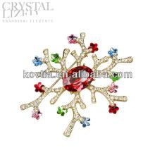 Broche à bijoux fantaisie à la mode