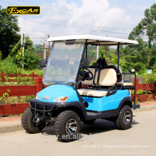 Levé grand pneu chariot de golf électrique 4 places chariot de golf