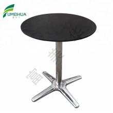 Fumeihua wood grain hpl waterproof outdoor compact dining table set