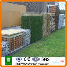 barricadas de gaviones de piedra