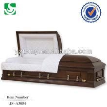 Премиум американских Роза интерьера половину диване гробы и шкатулки