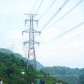 Terminal de esquina 220kV Transmisión de potencia Torre de hierro