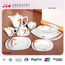 Heißes verkaufendes quadratisches Abendessen-Set (JSD116-S027)