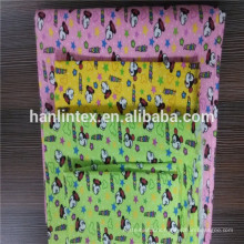 bleached flannel cotton fabric/100% cotton flannel fabric with lurex