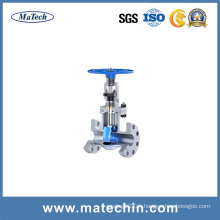 OEM Precision Acier inoxydable 304 Water Grooved Motor Operated Gate Valve