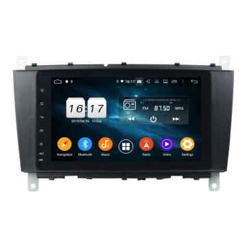 In dashboard auto multimedia android 9.0 C klasse
