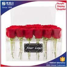 Custom High Quality Funny Acrylic Flower Storage Box