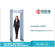 Customized Prison Metal Detectors, Walk Through Detector Simultaneous Alarm