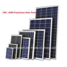 Panneau solaire de Polysilicon de la puissance faible 10W pour des produits solaires