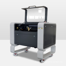 New Style 9060 laser cutting machine 6090 80W 100W co2  laser engraving cutting machine X and Y axis linear guide 57 motor