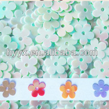 PVC Blumen Pailletten S259, Regenbogen PVC Blumen Pailletten S90, Multicolor Blumen Form Pailletten