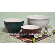 big bulk ceramic flanging bowl /Enamel Bowl
