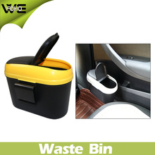Yellow Plastic Eco-Friendly Waste Bin Can for Sale