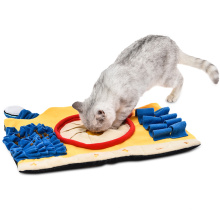 Wholesale Washable Portable Feeding Pet Cat Activity Play Mat