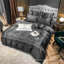 Discount Highest Quality Modern Design with Logo Bedding Set 4 PCS