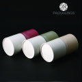 Custom made round tube for tea packaging