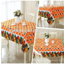 Hanlin Textile printed 300D mini matt fabric for table cloth