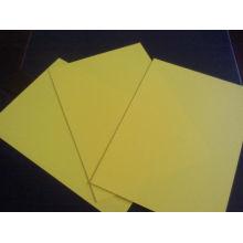 Folha de cor PVC rígido para promoção