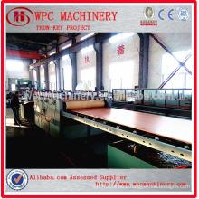 Wood plastic composite board making machine/WPC board making machine
