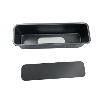 Molde para tostadas rectangular con fondo extraíble